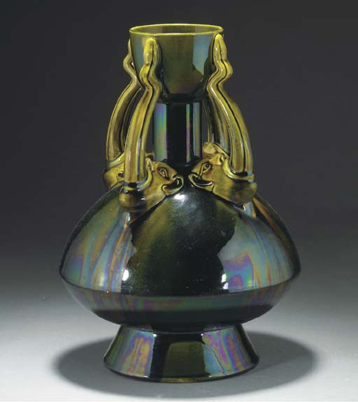 An Ault Tongues Vase
