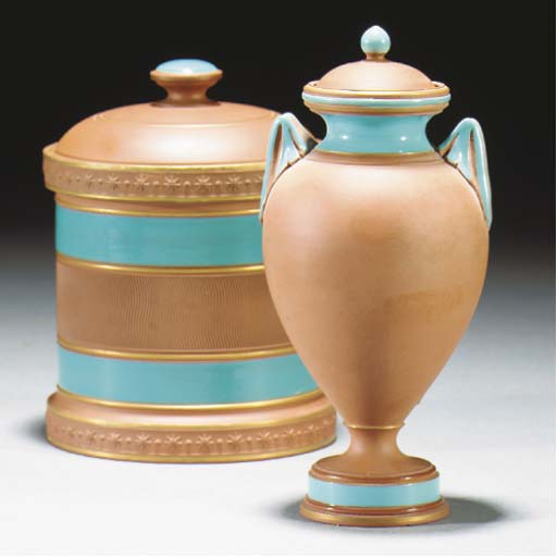 A Watcombe Twin-handled Vase a