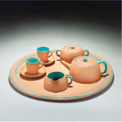 A Watcombe Part Teaset