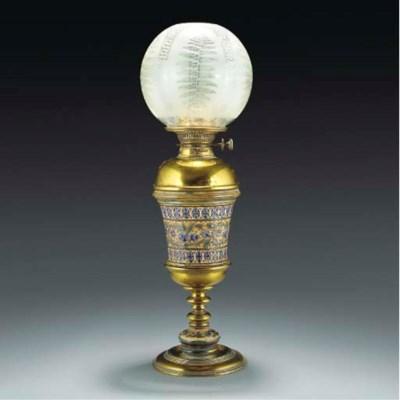 A Doulton Lamp