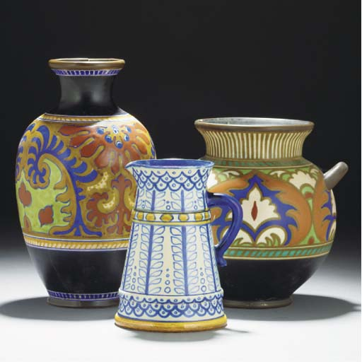 A Gouda Vase