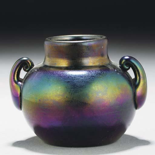 A Webb 'Bronze Ware' Ewer