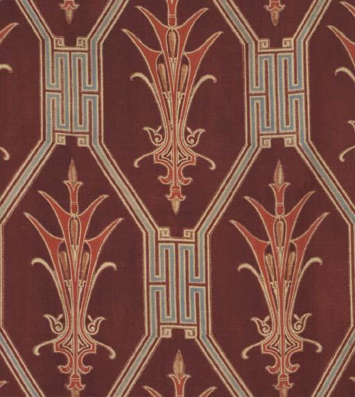 Two Printed Wool Panels