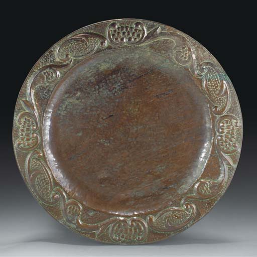 A John Pearson Copper Charger