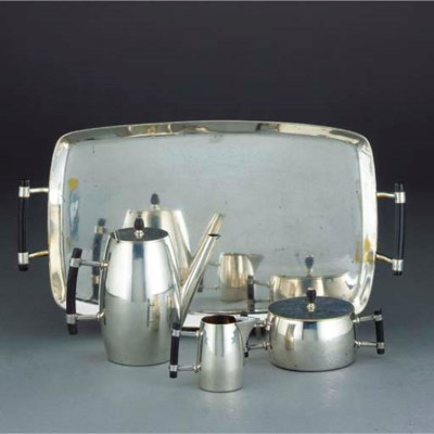 An Electroplated Coffee Servic