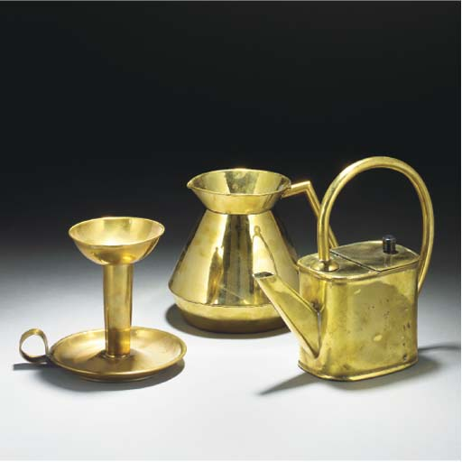 A Perry Son & Co. Brass Candle