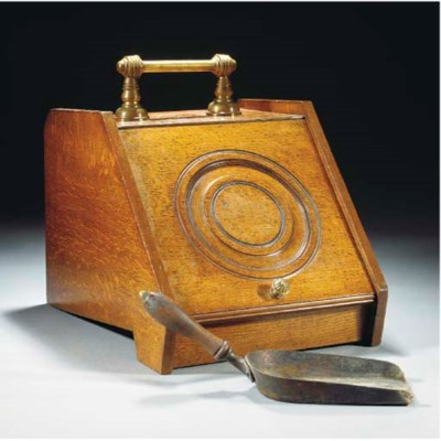A Perry Son & Co. Coal Scuttle