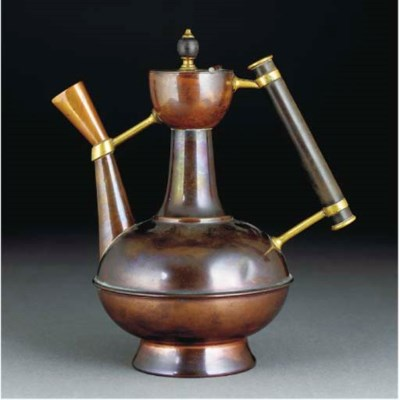 A Benham and Froud Copper Coff