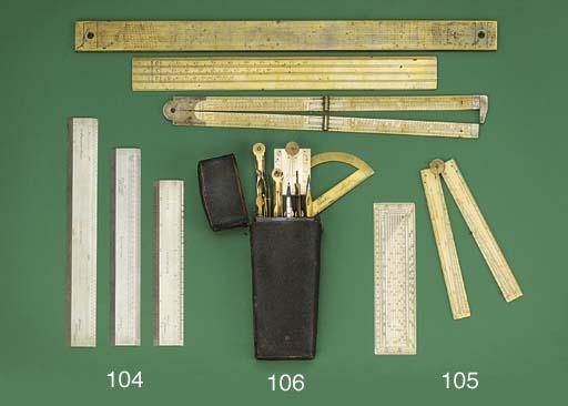 Three 19th-Century ivory rules