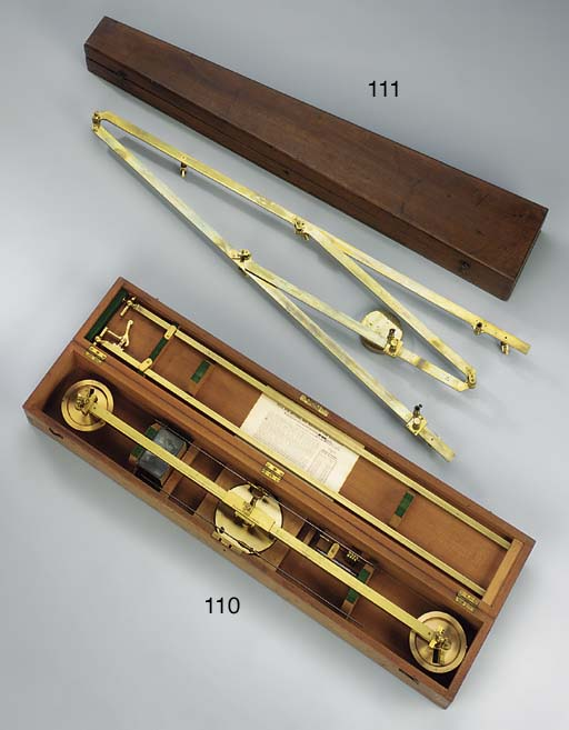 A 19th-Century brass pantograp