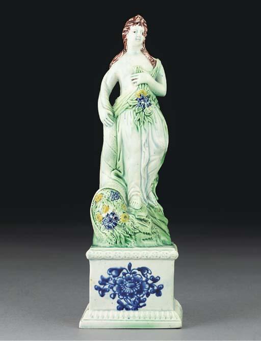 An English pearlware figure em