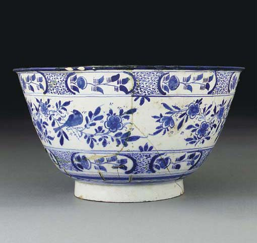 A London Delft named and dated