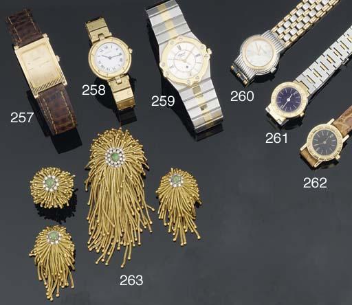 A Lady's quartz wristwatch by