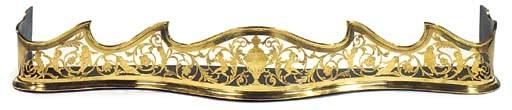 A brass fender