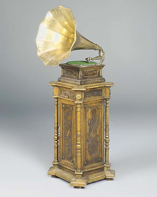 A Monarch Senior gramophone