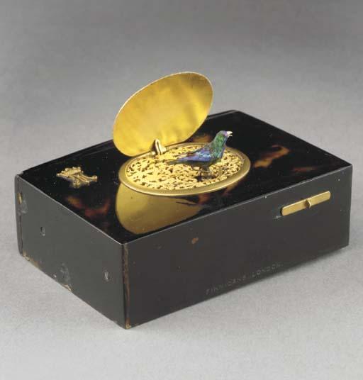 A singing bird box