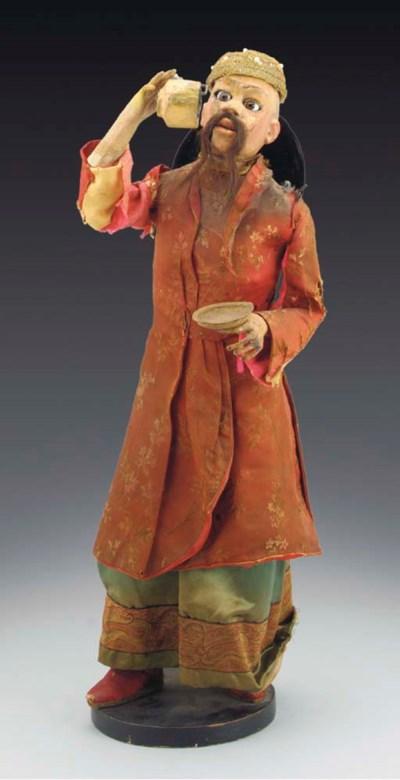 A Vichy Chinese tea-drinker au