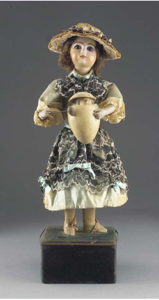 A Renou Girl with egg automato