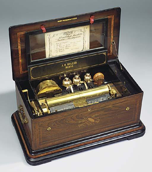 An orchestral musical box by B