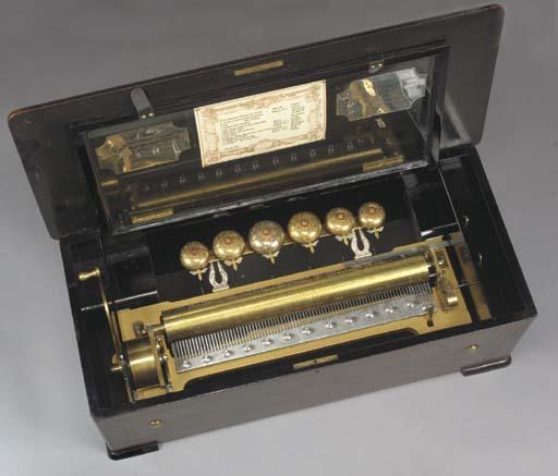 A musical box by Paillard, Vau