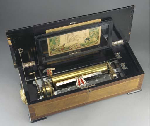 A musical box by B.H.Abrahams,