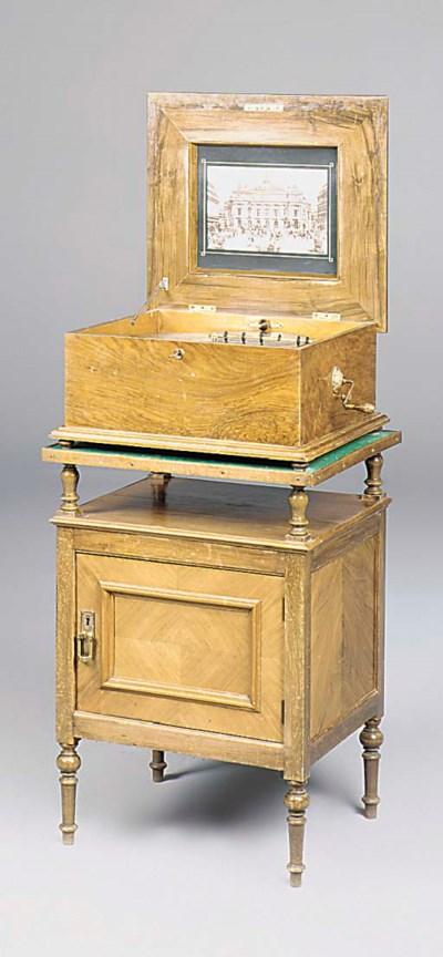 A 15 5/8-inch Polyphon table d
