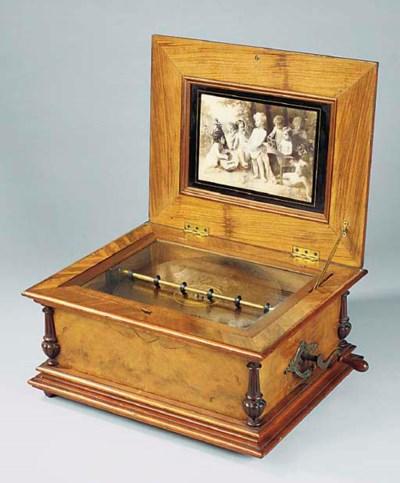 A Symphonion 13 5/8-inch table
