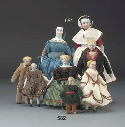A china shoulder-head dolls' h