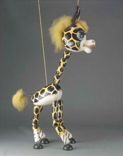 A rare Pelham Display Giraffe