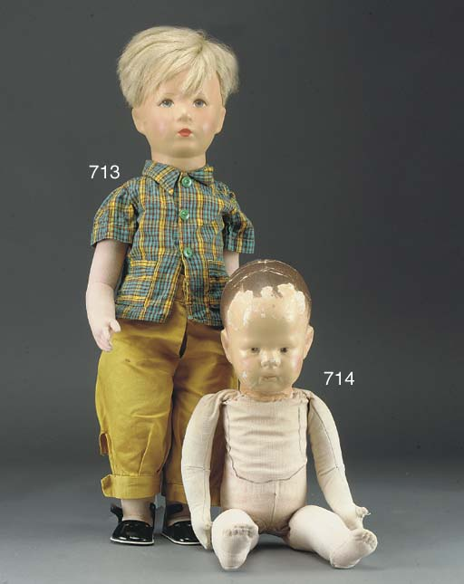 A Kathe Kruse German Child Fri