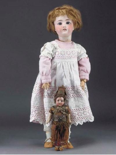 An Armand Marseille Child Doll
