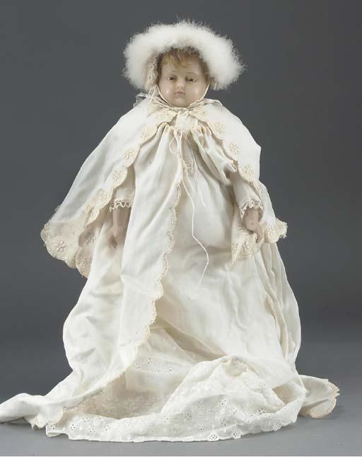 A Pierrotti poured wax baby bo