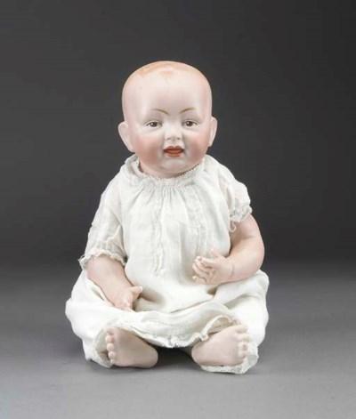 A Kestner all-bisque baby