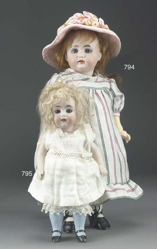 A Kestner 150 all-bisque doll