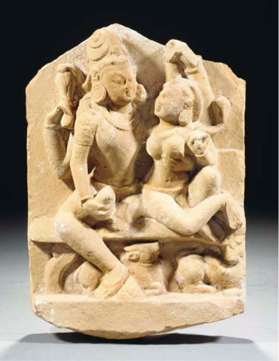 An Indian sandstone group of S