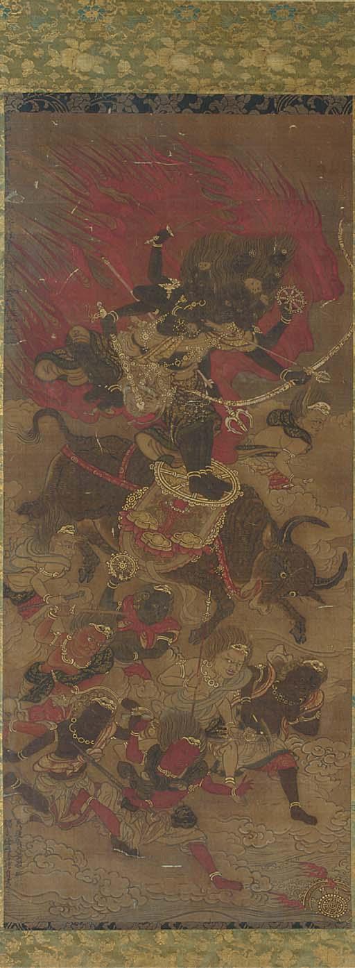A kakemono, 18th century