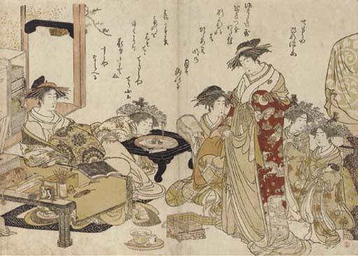 Kitao Masanobu (1761-1816)