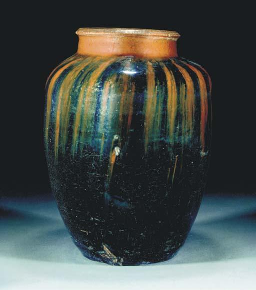 A large Chinese Henan pottery