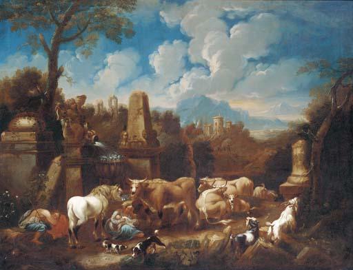 Follower of Johann Heinrich Ro