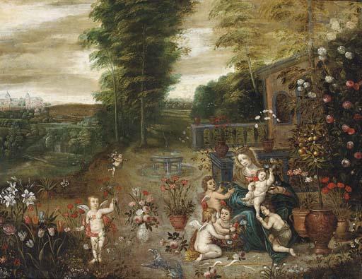Circle of Jan van Brueghel II