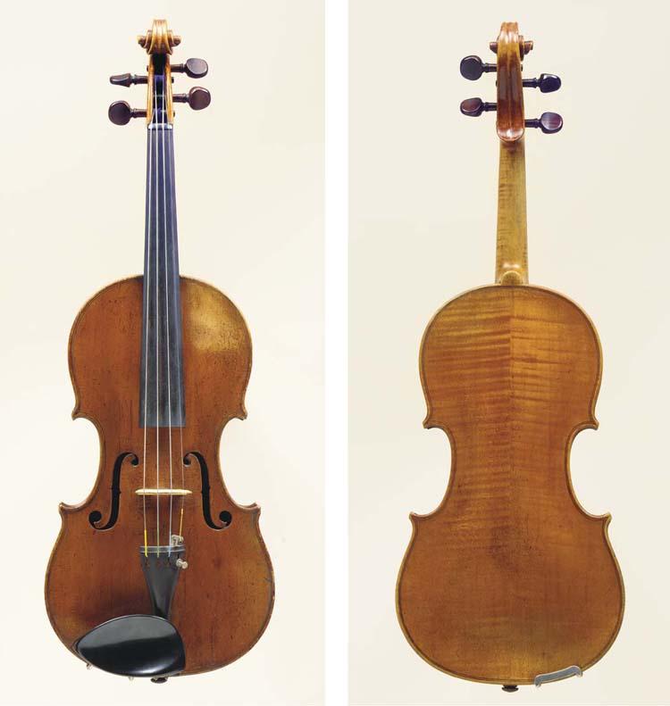 A Violin by Lockey Hill, Londo