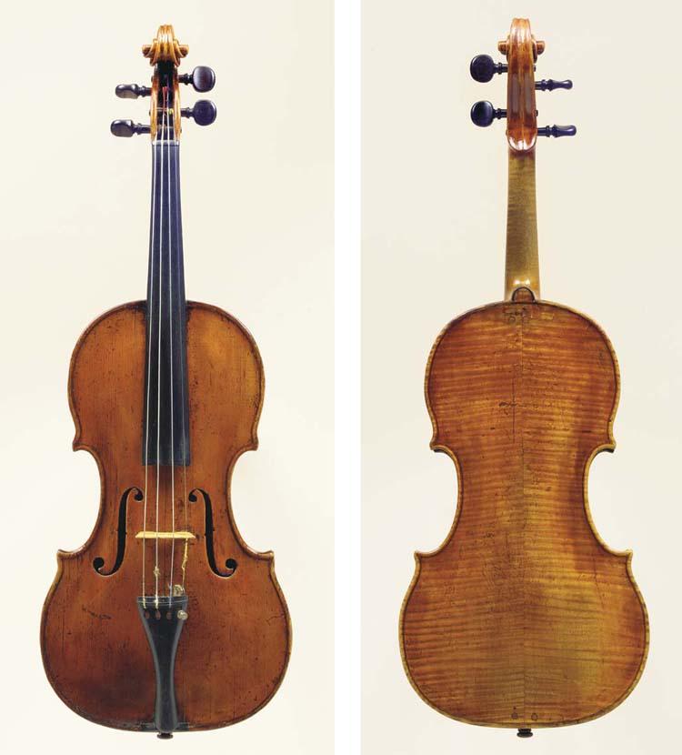 A Violin by Andrea Castagneri,