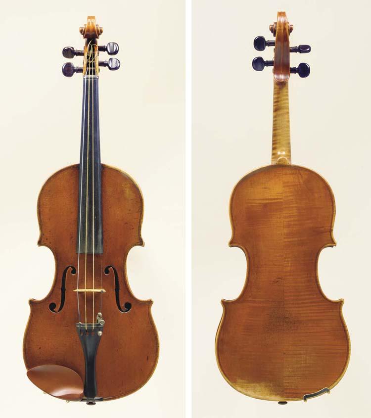 A Violin by Aegidius Kloz, Mit