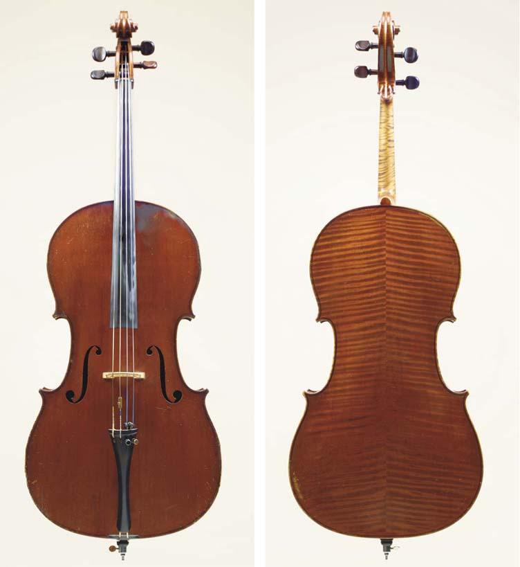 A French Cello, Paris 1894