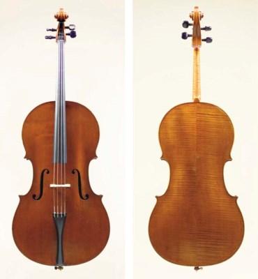 A Cello by Joseph Hill, London