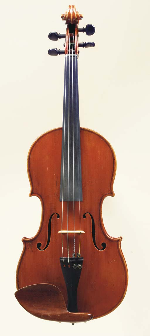 A Violin attributed to Pierre