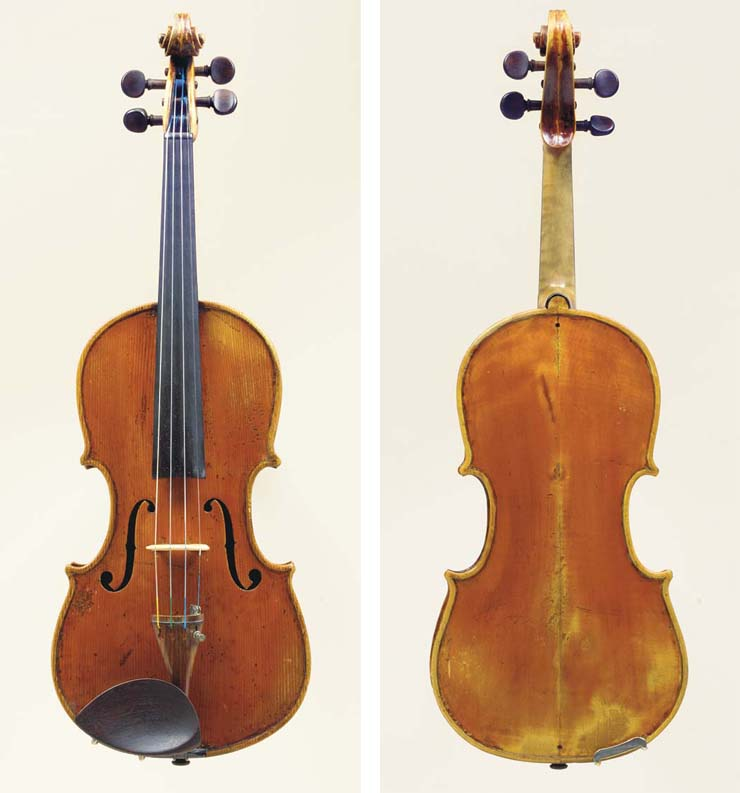 A Violin attributed to Lorenzo