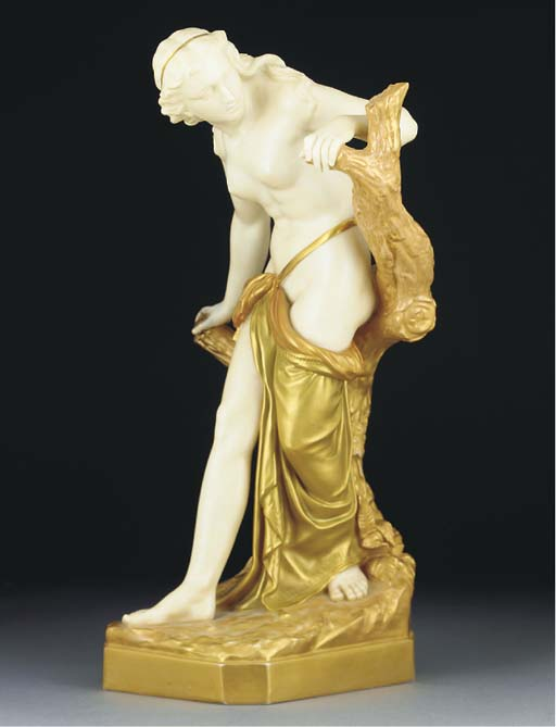 A Royal Worcester figure of a