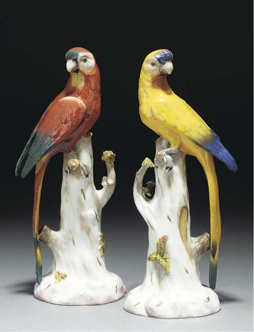 Two Carl Thieme models of parr