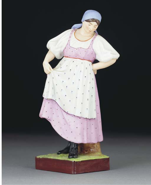 A MOSCOW (GARDNER) FIGURE OF A
